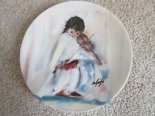 1993 Holiday Lullaby, DeGrazia's Celebration Series Plate
