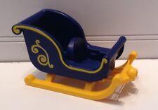 2013 Geobra Playmobil Blue & Yellow Sleigh