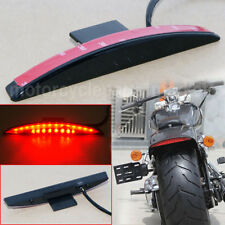 Rear Smoke LED Fender Tip Brake Tail Light for Harley Breakout FXSB Fat Bob CVO