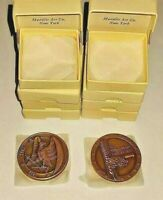 HTF GEM 1962 MEDALLIC ART CO War of 1812 BRONZE Medal 150th Anniversary W/box