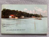 Isley Island, East Side, Great Sodus Bay, New York Vintage Early 1900's Postcard