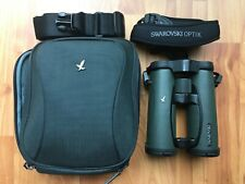 Swarovski EL 8.5 x 42 SV Binoculars Swarovision Field Bag Pro Case - Pristine