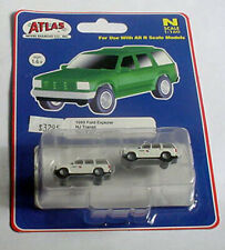 Atlas, set of 2 1993 Ford Explorers,Nj Trans. White # 60000 076. N 1:160. Mip