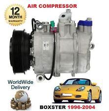 FOR PORSCHE BOXSTER 2.5 2.7 3.2 1996-> AC AIR CON CONDITION COMPRESSOR COMPLETE