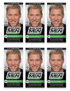 Just For Men Original Formula, Restores Original Color, H10 Sandy Blond (6 Pack)