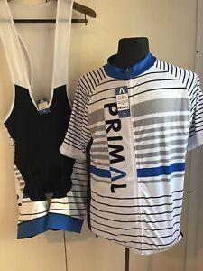 PRIMAL Cycling Kit Race Bib Shorts & Jersey SZ 3XL KeyWord castelli