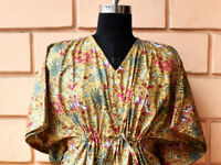 Indian Night Gown, Spa Robe, Resort Wear, Beach Cover Up, Cotton Maxi Dressing
