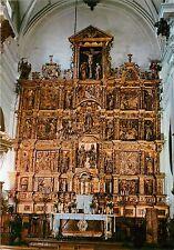 Spain Costa del Sol Cathedral de Malaga Dom Innere Retable High Altar Postcard