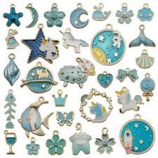 31Pcs Assorted Alloy Enamel Charms Pendants DIY For Necklace Bracelet Crafting #