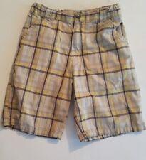 Boys Arizona Shorts Size 4T Adjustable Waist Plaid