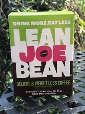"""LEAN JOE BEAN WEIGHT LOSS COFFEE"" 1 BOX SALE! FREE SHIPPING!"