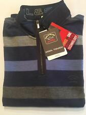 NEW Paul & Shark Yachting Jacket ZIP Blusotto Sweater Lupetto L WOOL