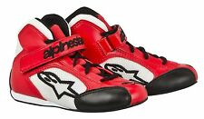 Alpinestars Tech 1-KS Youth Karting Shoes Red or Black Free US Shipping