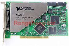 USED National Instruments PCI-6034E NI DAQ Card 16 bit Analog Input Tested #7