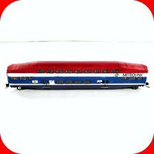 N Scale BOMBARDIER METROLINK Passenger Coach Car - Custom Painted - ATHEARN