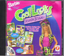 Barbie Cool Looks Fashion Designer (PC, 1997, Mattel Media)