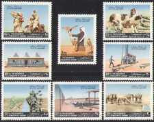 Jordan 1972 Birds/Desert/Nature/Animals 8v set (n28454)