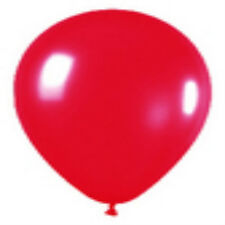 100 Fashion Red Latex Balloons Helium Grade 11""