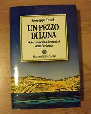 GIUSEPPE DESSI - UN PEZZO DI LUNA - 1987 BANCO DI SARDEGNA (MM)