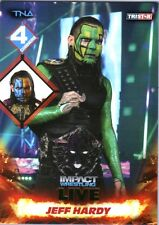 TNA Jeff Hardy #109 2013 Impact Wrestling LIVE GREEN Short Print Card DWC