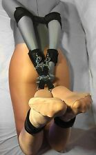 4-Way Hogtie Clip System with Elbow, Wrist, and Ankle Cuffs (Poly Webbing)