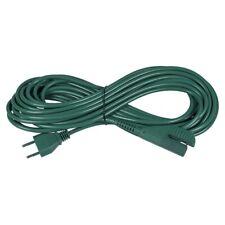 Kabel Rundkabel grün Staubsauger Alternativ Anschlusskabel 10 Meter Vorwerk 135