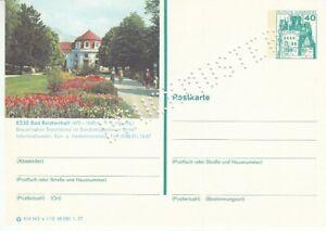 P 124 Bildpostkarte Imprimer Échantillon Bad Reichenhall