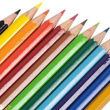 Berol Verithin Colouring Pencils Wallet X 12 Assorted
