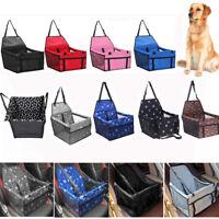 Pet Dog Cat Puppy Travel Car Seat Carrier Belt Booster Folding Bag Kennel Mat