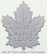 TORONTO Maple leafs NHL Hockey Sport Patchs Logo Embroidery Iron,Sewing on cloth