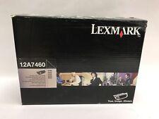 New ! Genuine  Lexmark T630  T632 T634 X630 X632 Black toner Cartridge 12A7460