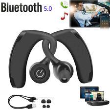 Waterproof Wireless Earbuds Bluetooth V5.0 Headphone Sport Earpiece Bass Headset