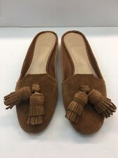 27618a4c2 new Authentic Tory Burch Salinas tassel flats slides mules shoes size 6.5