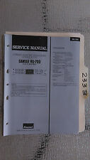 Sansui rg-700 service manual original repair book stereo graphic eq 4 pages