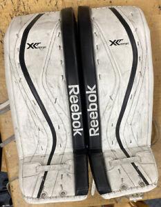 "REEBOK XLT GPX28 K501SR  HOCKEY LEG PADS size 34""+1""  lefevre"