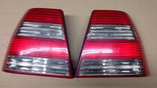 MK4 VW Jetta GLI Bora Red Smoked Tail Lights OEM HELLA