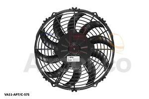"Spal Axial Fan, VA11-AP7/C-57S, 12v (Push) 10.0"" (255mm) - Genuine Product"