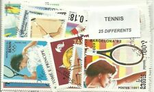 "Lot timbres thematique "" Tennis """