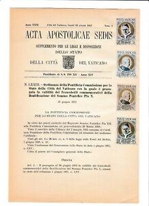 s39531 VATICANO ACTA APOSTLICAE SEDIS 30 6 1952 Beatificazione Pio X