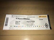 Sammler Ticket Borussia Mönchengladbach FC Bayern München 25.11.17 FCB Gladbach