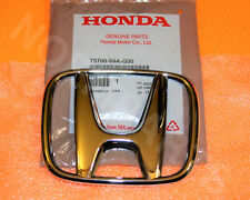NEW OEM 2005-2009 Honda CRV Front Grille H LOGO Emblem Chrome