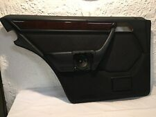 Original Mercedes W124 T Model Door Panel Rear Left Driver Side Black