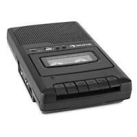 Grabador de Cassette Reproducción Directa Micrófono Integrado USB Corriente Pila