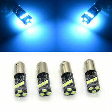 6xBA9S Canbus White Error Free 9-SMD 64132 H6W 3893 T4W LED Parking Light Bulbs