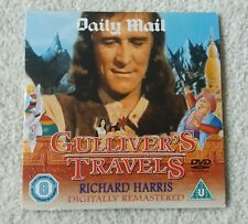 Daily Mail promo DVD Gulliver's Travels (Richard Harris) U