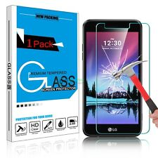9H Premium Real Tempered Glass Screen Protector Film for LG K20 Plus (2017) N-a