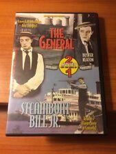 The General/ Steamboat Bill Jr. (Dvd) Buster Keaton.74