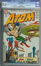 ATOM #7 CGC 9.4 WHITE PAGES