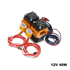 MK8 One Extruder 3D Printer 0.4 mm Nozzle Extruder with Heating Rod Motor Fan