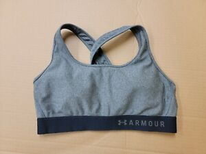 Under Armour Womens Sports Bra Size L fitted with pads